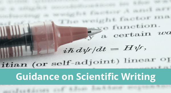 Guidance on Scientif Writing